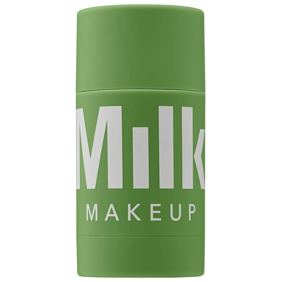 <p>Calm yourself and your skin in just 10 minutes with the <span>Milk Makeup Cannabis Sativa Seed Oil Hydrating Face Mask</span> ($18, originally $26). Aloe helps to hydrate while kaolin clay balances and exfoliates. </p>