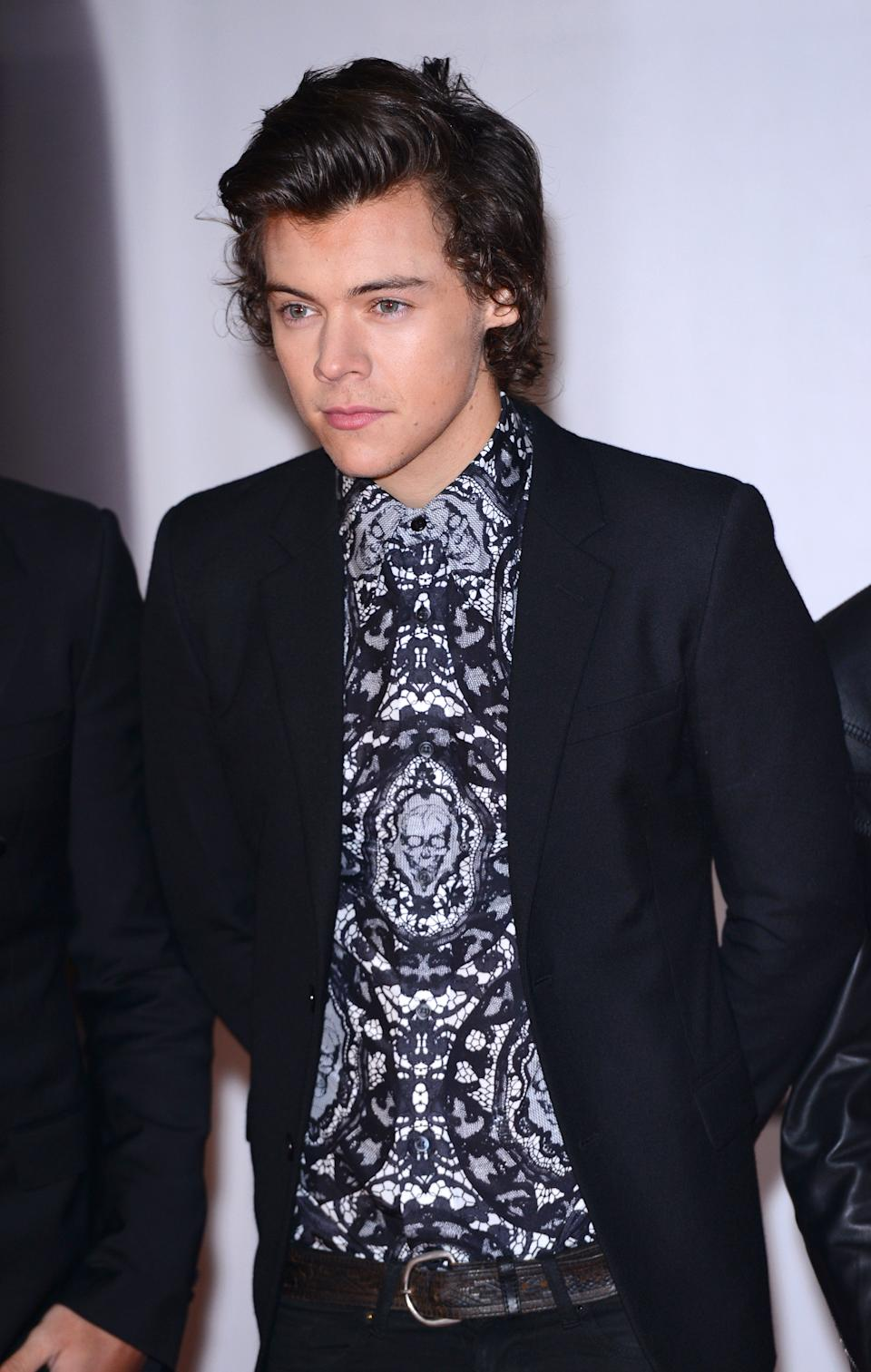 Harry Styles attends The BRIT Awards