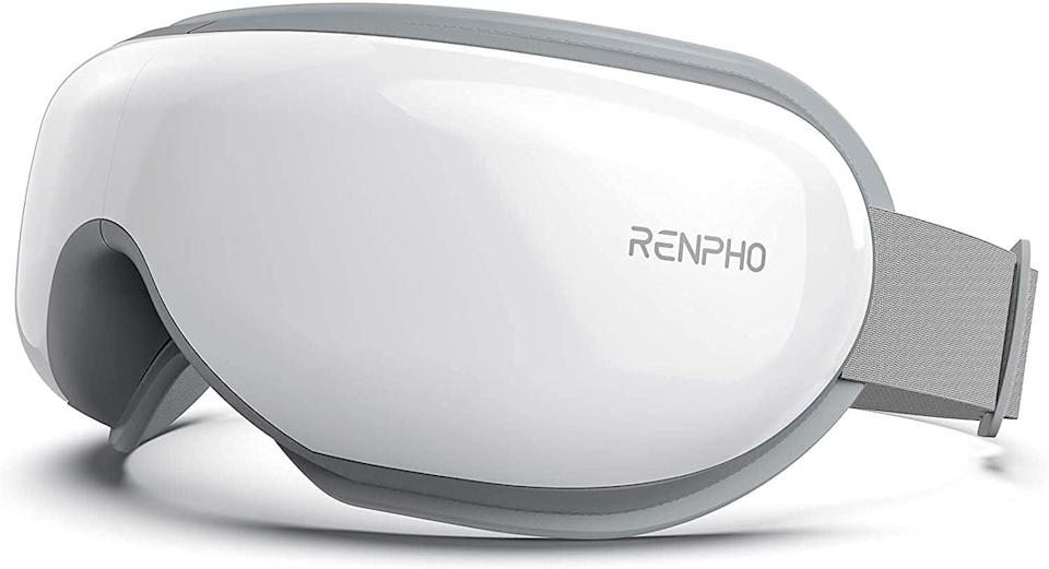 <p>The <span>Renpho Eye Massager With Heat &amp; Bluetooth Music</span> ($70, originally $80) is an electric shiatsu eye massager that will help relieve the tension from eye fatigue and eye strain. It's a gift that will truly keep on giving and actually help out.</p>