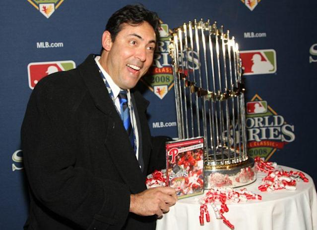 Ruben Amaro Jr. was at the height of his power in 2011. (Getty Images/Mychal Watts)