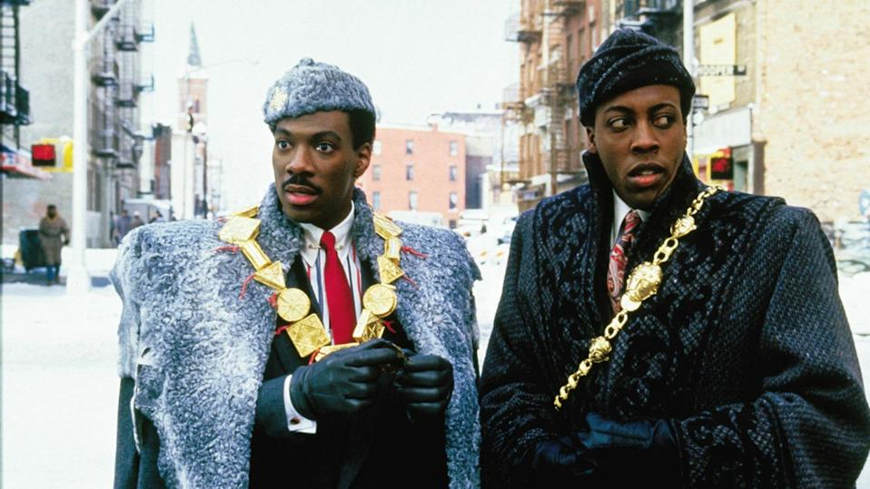 """""""Coming to America."""""""