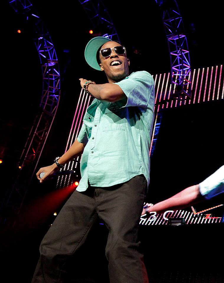 "It was no surprise when Atlanta rapper B.o.B (a.k.a. Bobby Ray Simmons) performed his hit ""Nothin' On You."" Noel Vasquez/<a href=""http://www.wireimage.com"" target=""new"">WireImage.com</a> - May 15, 2010"