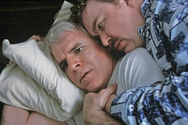 "<strong><em><h3>Planes, Trains & Automobiles</h3></em><h3>, 1987</h3></strong><h3><br></h3><br>Technically, this is a Thanksgiving film, but a holiday is a holiday. Plus, you can break up those awkward silences with the family by throwing out a quote (""Those aren't pillows!) from time to time. Just avoid the urge to tell your step-mom to wipe that fucking, dumbass smile off her rosy, fucking cheeks.<br><br><strong>Watch On: </strong>Netflix<span class=""copyright"">Photo: Courtesy Paramount Pictures.</span>"