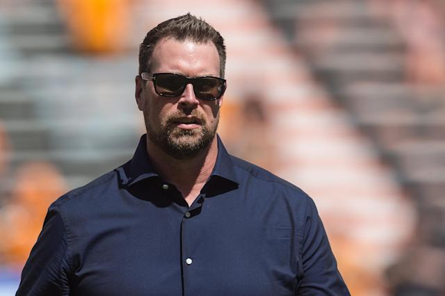 Ryan Leaf was arrested on Friday in Southern California on domestic battery charges. (Bryan Lynn/Icon Sportswire/Getty Images)