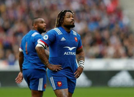Rugby Union - Six Nations Championship - France vs England - Stade de France, Saint-Denis, France - March 10, 2018 France's Mathieu Bastareaud REUTERS/Regis Duvignau