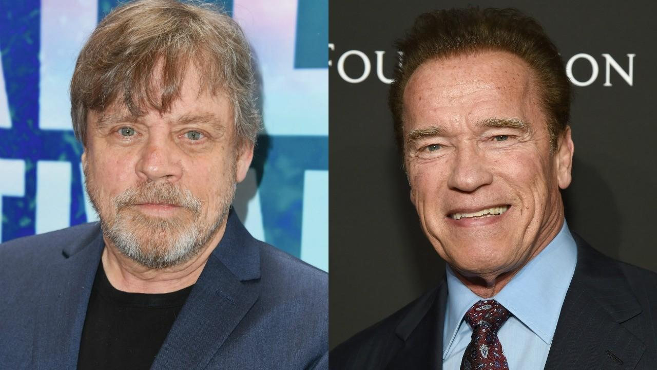 The 'Terminator' star responded to Hamill telling him that he's a 'rule breaker.'