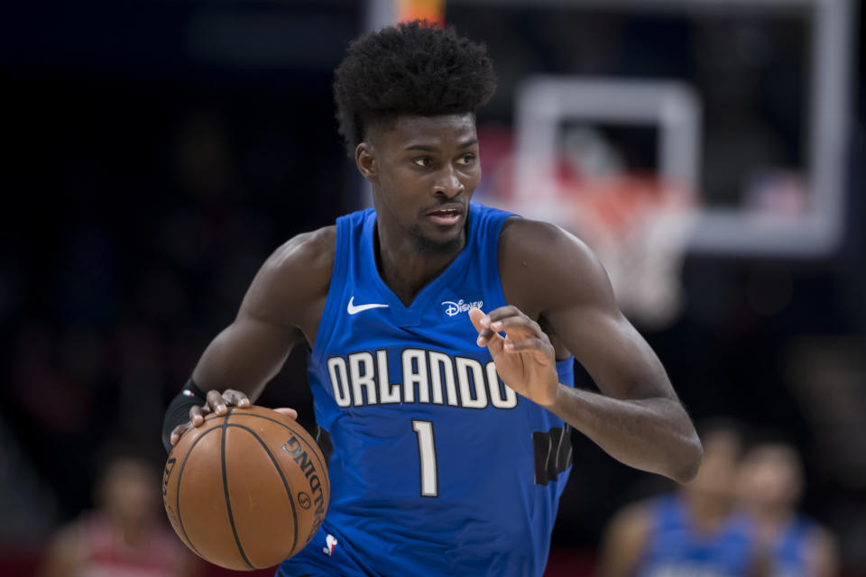 Orlando Magic forward Jonathan Isaac