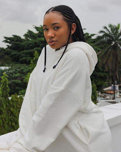 """<p>Influencer Temiloluwa Otedola left two braids hanging down in front of her ears to frame her face, and the rest pulled back into a ponytail.</p><p><a href=""""https://www.instagram.com/p/B5IpUqOpkxk/"""" rel=""""nofollow noopener"""" target=""""_blank"""" data-ylk=""""slk:See the original post on Instagram"""" class=""""link rapid-noclick-resp"""">See the original post on Instagram</a></p>"""