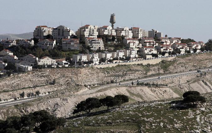 A partial view shows Israel's largest Jewish settlement on the outskirts of Jerusalem on January 30, 2015 (AFP Photo/Ahmad Gharabli)