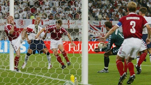 <p>One of only two World Cup knockout victories post 1990, the either being a grimly-fought 1-0 victory over Ecuador four years later in 2006.</p> <br><p>The routinely clinical way in which England finished off the Danes in the last 16 of the World Cup in Japan is what nearly all fans expected against another Scandinavian opponent at a similar stage of the Euros last summer, but alas...</p> <br><p>Sven-Goran Eriksson's men actually had comfortably less of the ball than their opponents, but did that damage early with Rio Ferdinand's effort inside five minutes setting the pace, before Michael Owen and Heskey tripled the advantage at the break.</p> <br><p>Fun quiz question, can you tell me the <em>only</em> World Cup game since England beat Denmark that the Three Lions won by more than a one-goal advantage?</p> <br><p>2-0 against Trinidad & Tobago.</p>