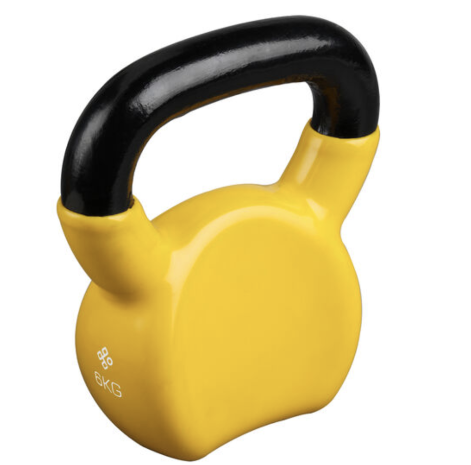 Celsius 6kg Kettle Bell Weights, $44.99