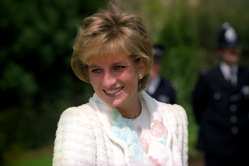 Diana became a fashion icon as a royal. (PA images)