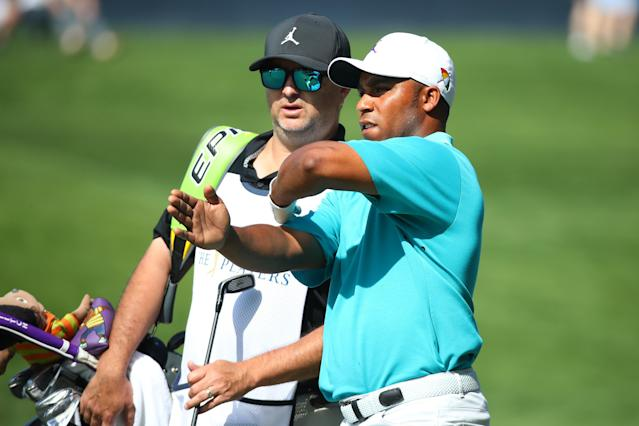 Harold Varner III had to add two shots to his score after an unusual ruling that involved replacing a cracked driver with another club assembling on the course