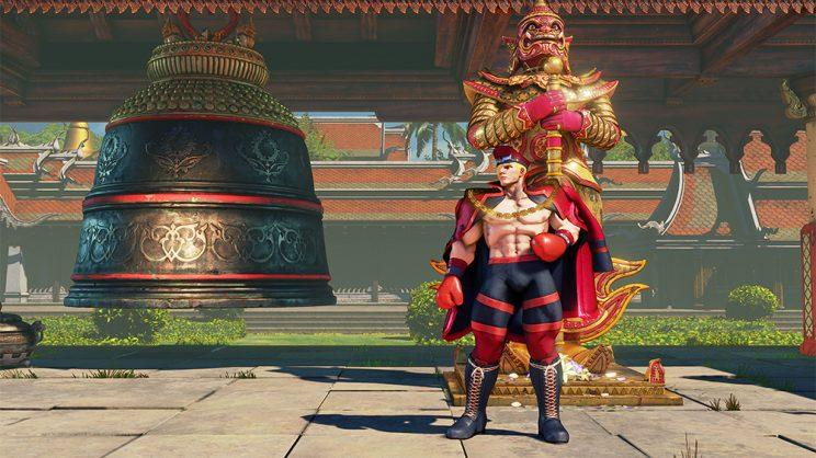 Ed's Battle Costume in Street FIghter V