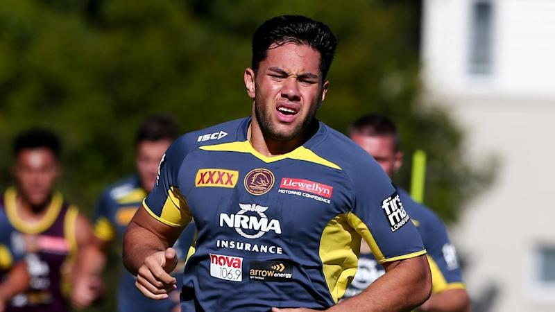 <p>The Broncos' Andre Savelio will undergo surgery after suffering an NRL season-ending knee injury.</p>