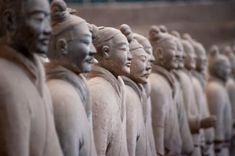 The Terracotta Warriors - Credit: getty