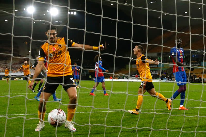 Premier League - Wolverhampton Wanderers v Crystal Palace