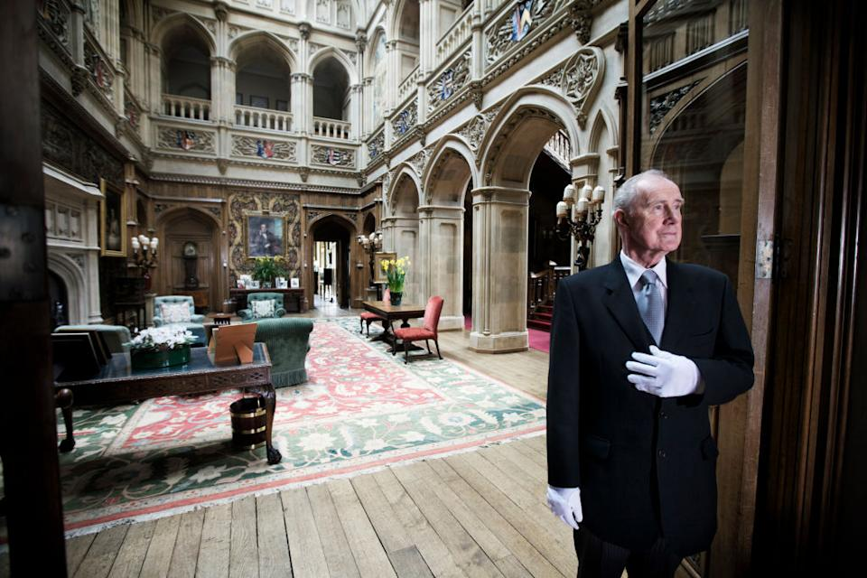 Another look inside the saloon at Highclere Castle [Photo: Getty]