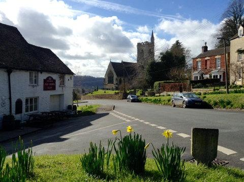 Uley, Gloucestershire - the pretty village John Daniel called home (SWNS)