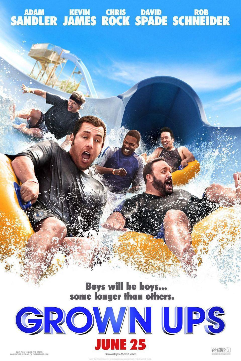 "<p><strong>Role: </strong>Leonard ""Lenny"" Feder<br></p><p>Sometimes, Adam Sandler just wants to take a long vacation with a few old comedy friends and get paid millions for it. This was one of those times. <br></p>"