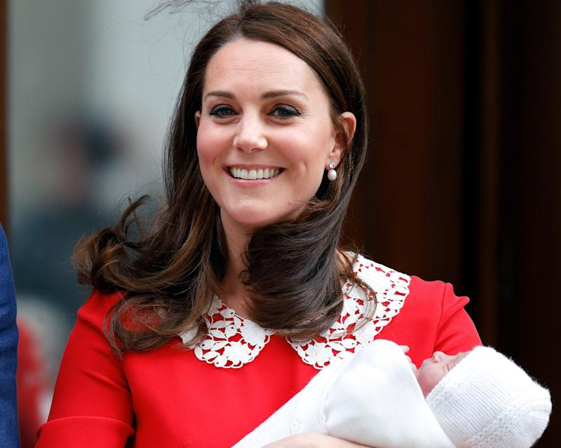 We Bet You Didn't Even Notice Kate Middleton's Nod to Queen Elizabeth After Giving Birth