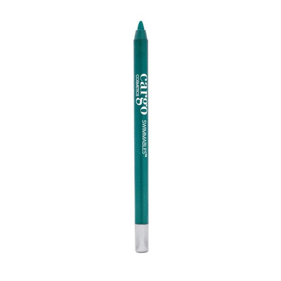 """Cargo Swimmables Eye Liner Pencils apply smoother than the creamiest butter on a warm slice of toast. Each pencil can be easily sharpened to a point for sharp wings or rubbed across lids for a bright wash of color. Editorial assistant <a href=""""https://www.allure.com/contributor/gabi-thorne?mbid=synd_yahoo_rss"""" rel=""""nofollow noopener"""" target=""""_blank"""" data-ylk=""""slk:Gabi Thorne"""" class=""""link rapid-noclick-resp"""">Gabi Thorne</a> was most impressed by the <a href=""""https://www.allure.com/review/cargo-cosmetics-swimmables-eye-liner?mbid=synd_yahoo_rss"""" rel=""""nofollow noopener"""" target=""""_blank"""" data-ylk=""""slk:Swimmables Eye Liner Pencils"""" class=""""link rapid-noclick-resp"""">Swimmables Eye Liner Pencils</a>' smudgeable formula. """"Instead of creating a regular wing, I used this eyeliner in the jet-black shade Black Sea and a shadow brush to smoke out the pigment for a bolder eye,"""" she shares. """"As I blended out the pencil, I was surprised how seamless and patch-free it was."""" $20, Amazon. <a href=""""https://www.amazon.com/Cargo-Cosmetics-Swimmables-Resistant-Smudge-Proof/dp/B00FLCTS46"""" rel=""""nofollow noopener"""" target=""""_blank"""" data-ylk=""""slk:Get it now!"""" class=""""link rapid-noclick-resp"""">Get it now!</a>"""
