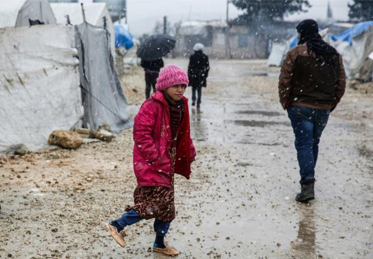 Of the 800,000 civilians displaced by the fighting in the northwest since December, more than 80,000 are sleeping rough in sub-zero temperatures