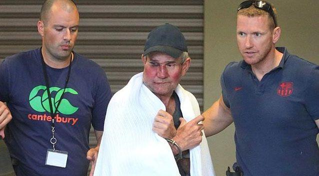 Gino Stocco was captured by police in October. Photo: AAP.