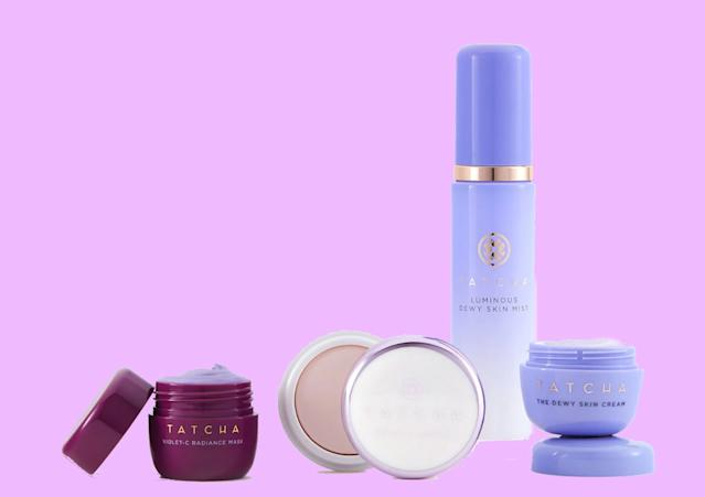 This collection by Tatcha is the kind of luxe skincare set we hope someone gives <em>us</em>. (Photo: Sephora)