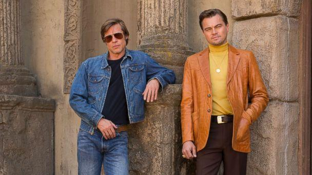PHOTO: Brad Pitt and Leonardo DiCaprio star in Columbia Pictures 2019 film, 'Once Upon a Time in Hollywood.' (Andrew Cooper/Columbia Pictures)