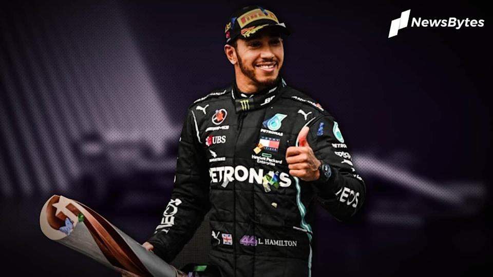 F1 champion Lewis Hamilton knighted in New Year