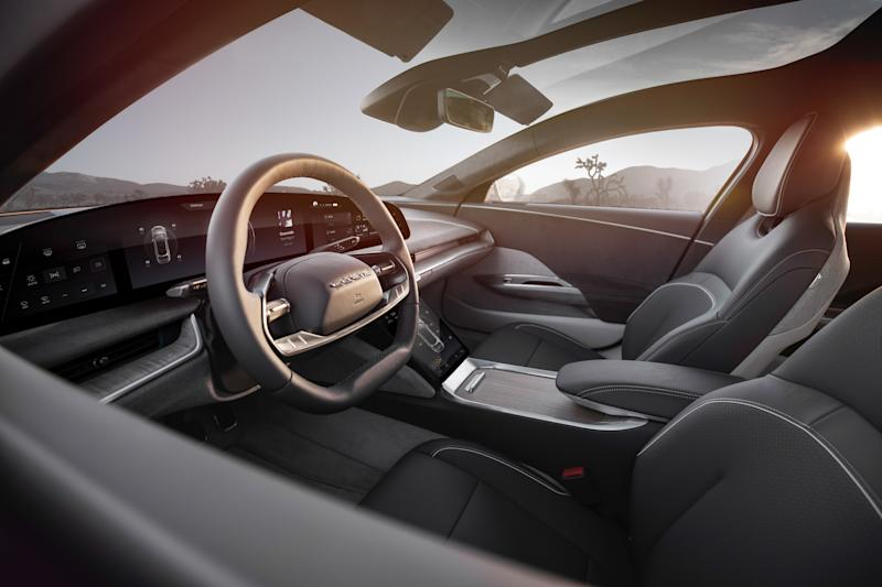 Interior of the Lucid Air. Credit: Lucid Motors.