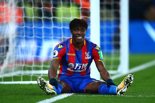 Wilf Zaha missed out on the World Cup with Ivory Coast