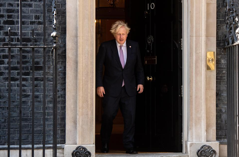 'It's actually quite hard to understand how anyone could kid themselves that the nasty party had been put on the shelf after Boris Johnson dealt with Brexit' (Getty)