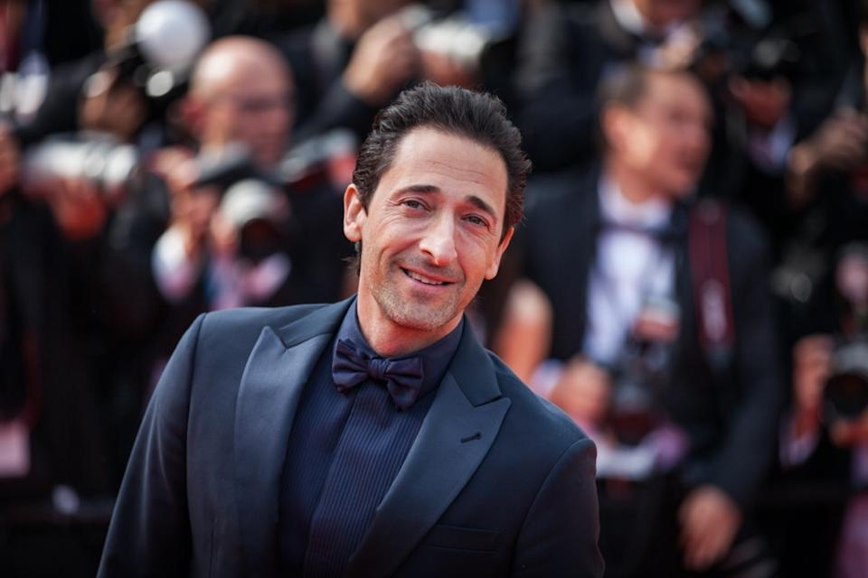 adrien brody on red carpet