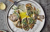 """<a href=""""https://www.bonappetit.com/recipe/grilled-flatfish-with-spoon-sauce?mbid=synd_yahoo_rss"""" rel=""""nofollow noopener"""" target=""""_blank"""" data-ylk=""""slk:See recipe."""" class=""""link rapid-noclick-resp"""">See recipe.</a>"""