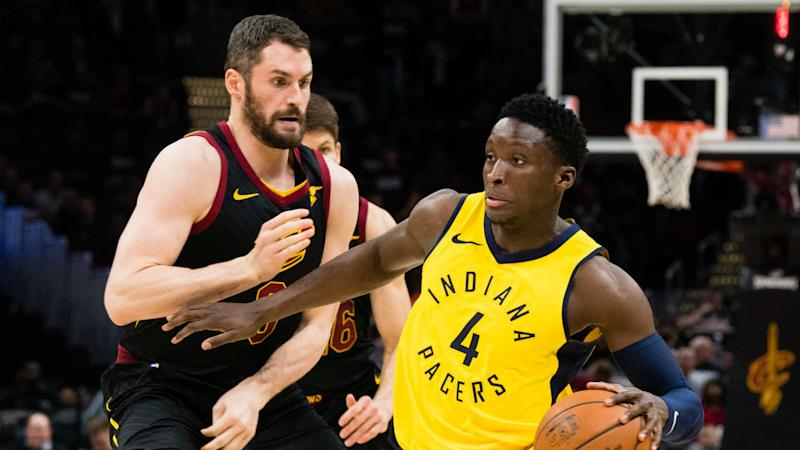 Cavaliers tie series with Pacers in  IN, 2-2