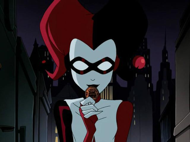 <p>A stylized Harley turned up in the fourth season of this animated series. <i>(Image: Warner Bros. TV)</i></p>