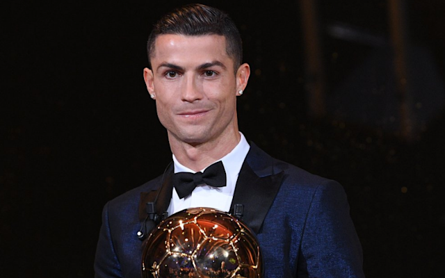 Cristiano Ronaldo has won the Ballon d'Or for a fifth time to move level with rival Lionel Messi. The Real Madrid forward was named the winner of France Football's prestigious award at a ceremony in Paris on Thursday. Ronaldo, 32, previously won the award in 2008, 2013, 2014 and 2016. Messi finished second in the voting while Neymar, who joined Paris St Germain in a world-record transfer deal this summer, was third. Chelsea's N'Golo Kante was eighth in the voting, the highest-placed of the seven Premier League players nominated. Ronaldo has had an outstanding 2017, helping Madrid to a La Liga, Champions League and Spanish Super Cup treble this year. 7:34PM It's official Second place: Lionel Messi Third place: Neymar 7:30PM No runner-up? This is from France Football's own website. The website behind these awards... 7:22PM The wait goes on It's not hugely relevant, but I feel it would provide some closure to know who finished second and who came third out of Messi and Neymar. France Football seem not to know the result, despite the fact that they are the organisation behind this award. 7:18PM From the horse's mouth Congratulations @Cristiano for your fifth #BallondOr! ������ #EiffelTowerpic.twitter.com/HX4hoePi9g— La tour Eiffel (@LaTourEiffel) December 7, 2017 7:11PM Numbers 2 and 3? Strangely, they have not yet announced who finished second and who was third. I bet Lionel Messi and Neymar are on tenterhooks... 7:09PM Family affair Ronaldo has just been joined on stage by his mother and son. 7:07PM Here is your winner Cristiano Ronaldo Ballon d'Or @francefootball 2017 ! #BallondOrpic.twitter.com/XbPS7anVRL— France Football (@francefootball) December 7, 2017 7:05PM The money shot Blimey, that happened rather quickly. One minute they were chatting on stage and the next they were zooming in from a distant shot of the Eiffel Tower. As they get closer, a man in a tuxedo appears. He is facing the wrong way. Who is this man? The camera moves closer. Is it James Bond? He's t