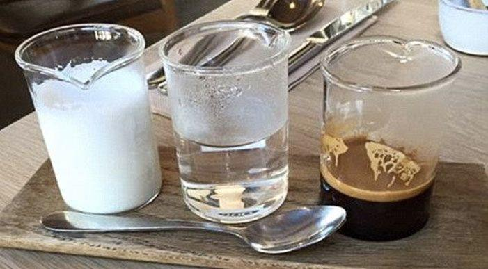 An example of 'deconstructed coffee'. Photo: Instagram