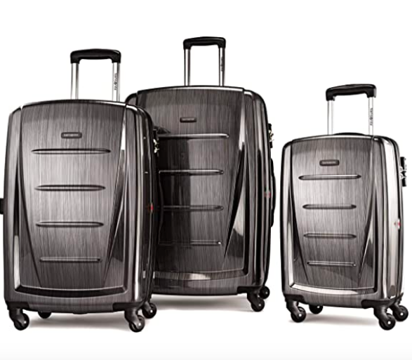 Samsonite Winfield 2 Hardside Expandable Luggage with Spinner Wheels, 3-Piece Set (20/24/28)