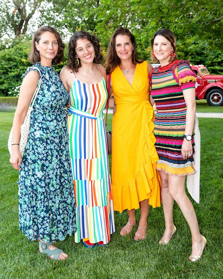 "<p>On July 3, Lizzie and Jon Tisch welcomes guests including Drew Barrymore, Neil Patrick Harris and David Burtka, Brooke Shields, and Christy Turlington Burns to their Bridgehampton home to celebrate the release of <em><a href=""https://www.amazon.com/Power-Sprinkles-Cake-Founder-Flour/dp/1419737422"" target=""_blank"">The Power of Sprinkles</a></em>, a new cookbook—or, ahem, cake book—from celebrity baker and Flour Shop founder Amirah Kassem as well as the release of her new collection of dinnerware for Williams Sonoma. The book shares recipes for Kassem's popular (and much Instagrammed) explosion cakes, which were served at the event, and it seems safe to say that a delicious time was had by all. </p>"