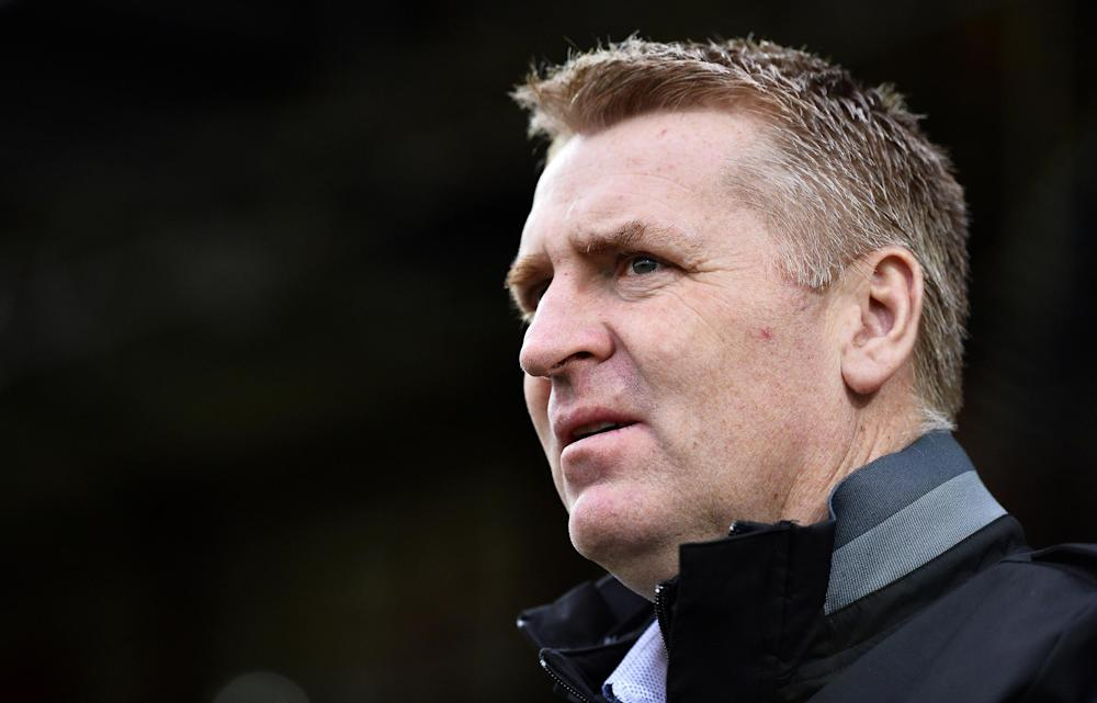 Dean SMith masterminded the victory for Brentford: Getty Images