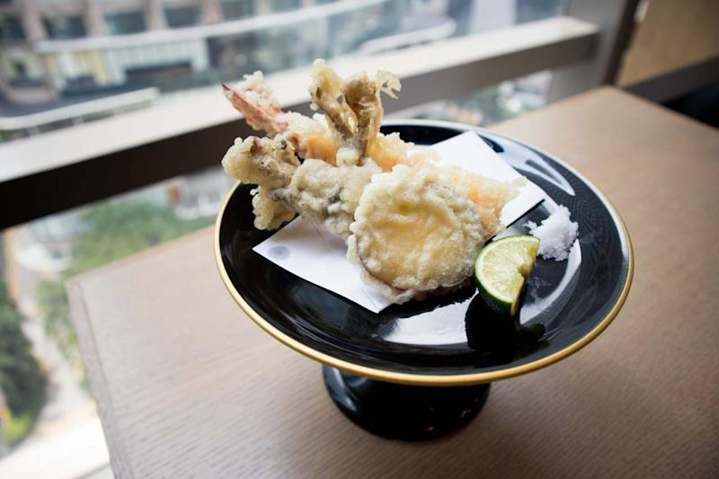 Tempura selections. (Photo: Zat Astha/Yahoo Lifestyle Singapore)