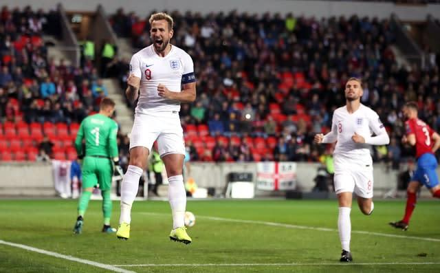 Harry Kane's early goal was not enough for England (Nick Potts/PA)