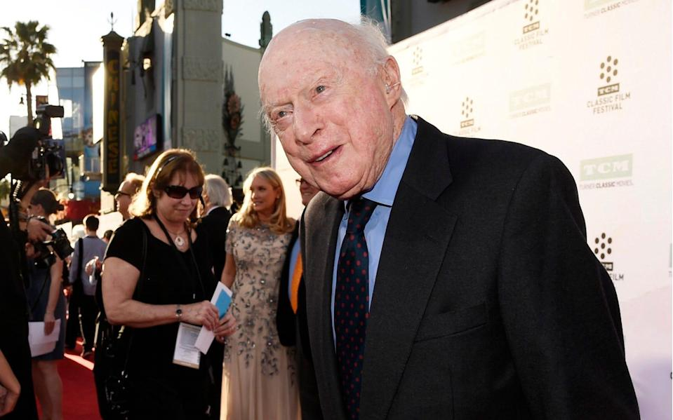 Norman Lloyd aged 100 at a film festival in 2015 - Chris Pizzello/ Invision