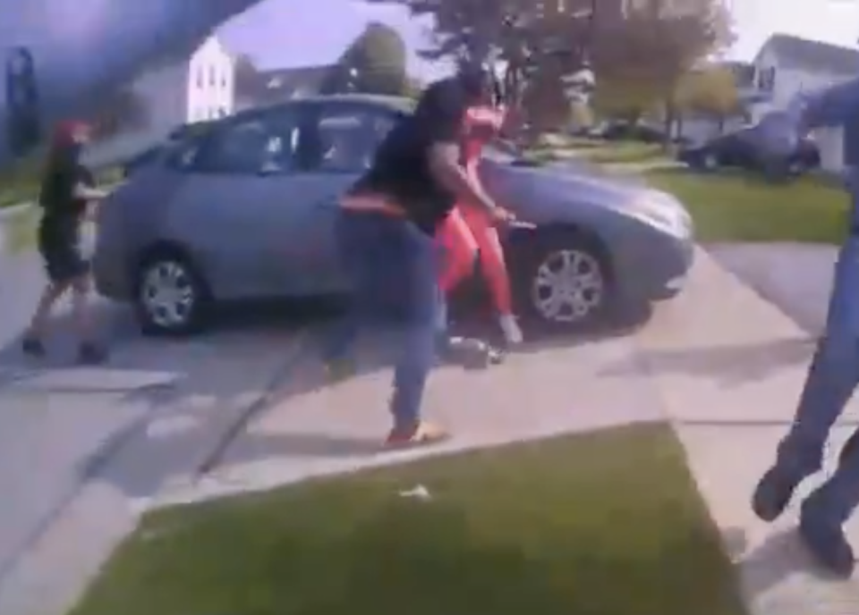 Photo from body camera footage captured the moment before Ma'Khia Bryant was fatally shot.