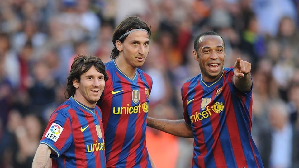 Messi, Ibrahimovic y Henry | Denis Doyle/Getty Images
