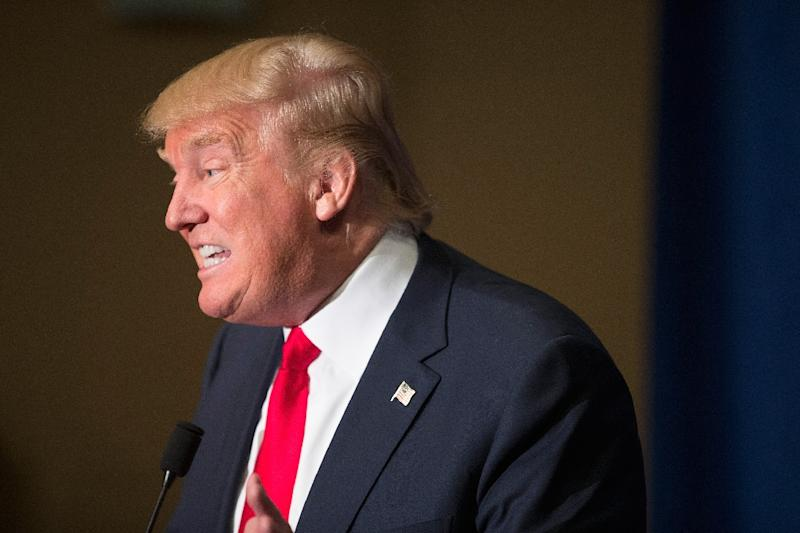 In August 2015, Donald Trump was criticized for his choice of words, which some deemed misogynistic, against Fox News reporter Megyn Kelly (AFP Photo/Scott Olson)