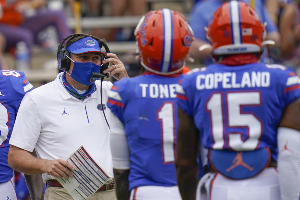 Florida head coach Dan Mullen